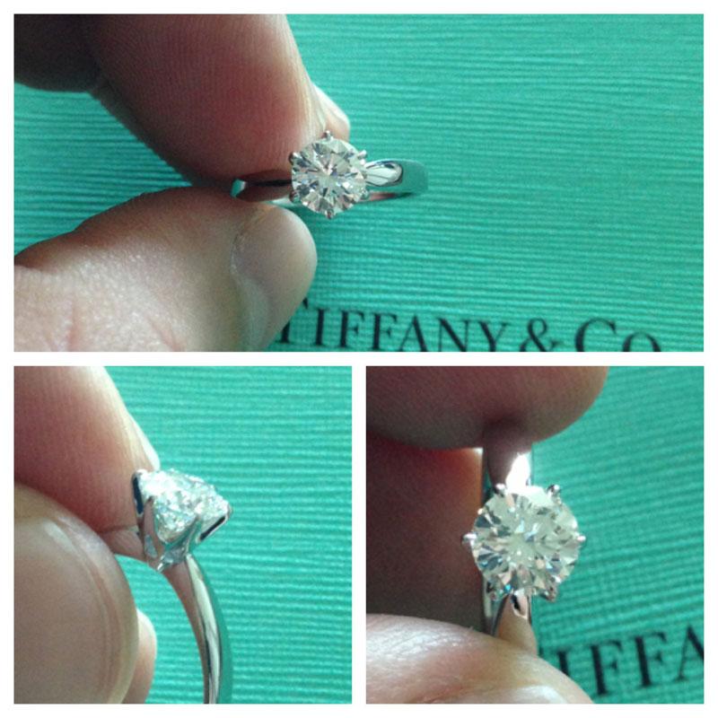 42bf3a021 04.23.13 Tiffany Solitaire Diamond Ring - Diamond Guy Hawaii
