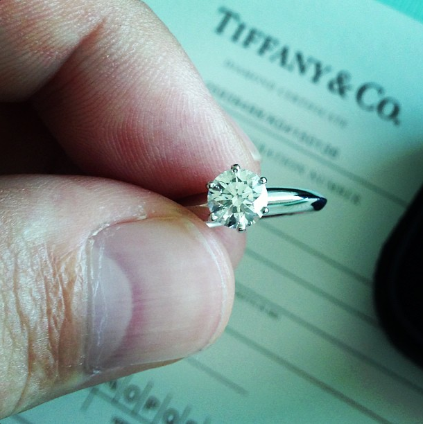 Carat Diamond Ring Tiffany Price