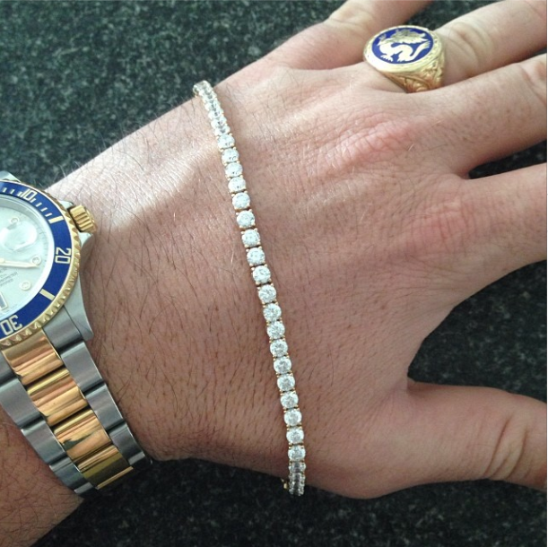 10 23 13 14k Diamond Tennis Bracelet Giveaway