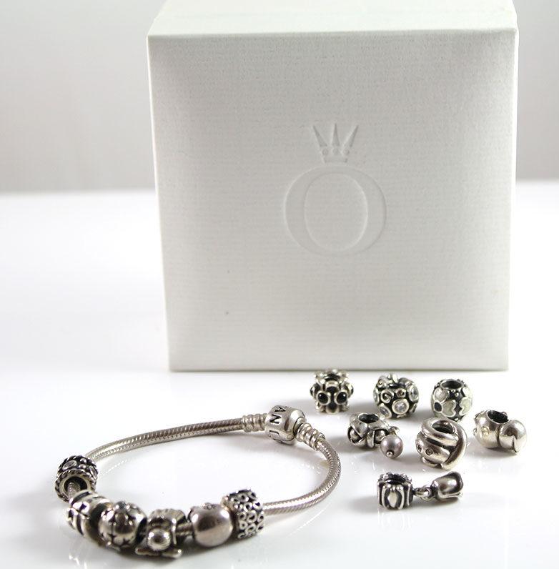 bracelet pandora avec charm
